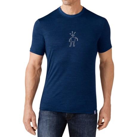 SmartWool Little Guy T-Shirt - Merino Wool, Short Sleeve (For Men)