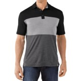 SmartWool Routt County Polo Shirt - Merino Wool, Short Sleeve (For Men)