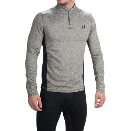 Orage Cloud Base Layer Top - Zip Neck, Long Sleeve (For Men)