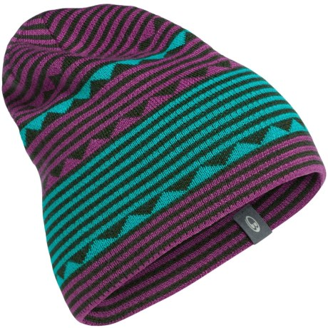 Icebreaker Atom Beanie - UPF 20+, Merino Wool (For Men and Women)