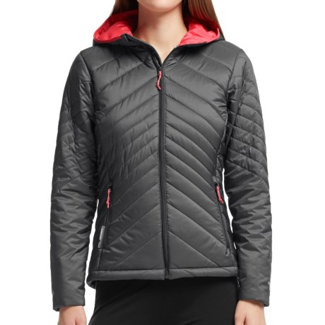 Icebreaker MerinoLOFT Stratus Hooded Jacket - Merino Wool, Insulated (For Women)