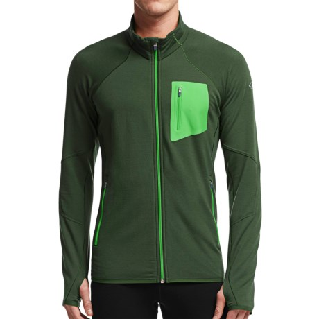 Icebreaker Atom RealFleece Jacket - Merino Wool (For Men)