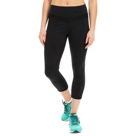 Kyodan Mini Mesh Technical Capris - UPF 40+ (For Women)