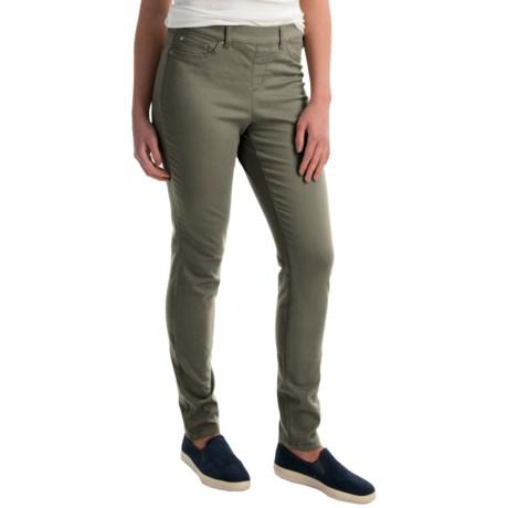 Skinny Leg Pull-On Pants (For Women)