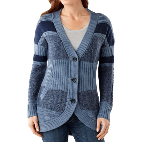 SmartWool Meran Long Cardigan Sweater - Merino Wool (For Women)