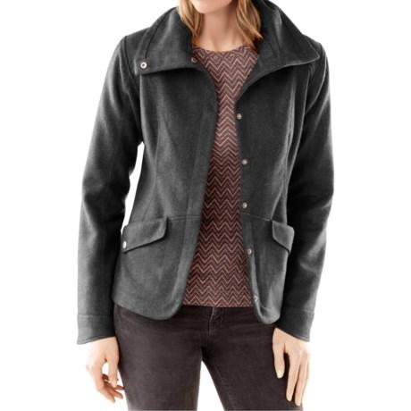 SmartWool Camp Creek Jacket - Merino Wool, Snap Front (For Women)