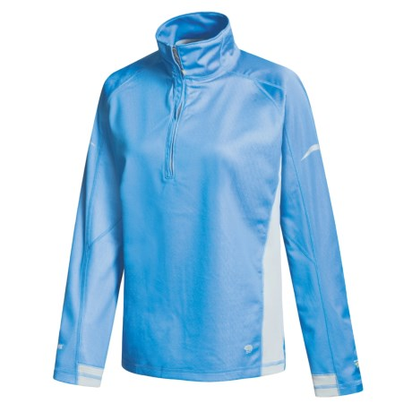 Mountain Hardwear Transition Windstopper® Pullover - Zip Neck (For Women)