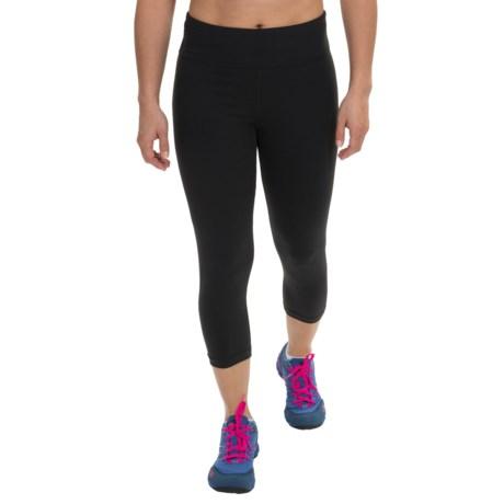Zobha Straight-Leg Capri Leggings - Low Rise (For Women)