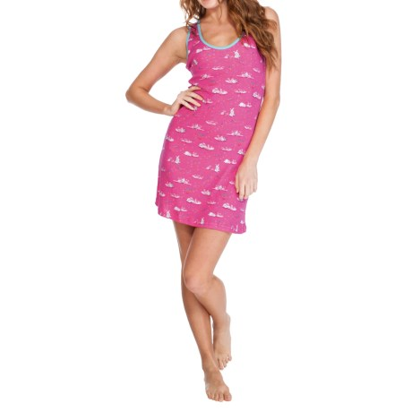 Munki Munki Racerback Nightgown - Sleeveless (For Women)