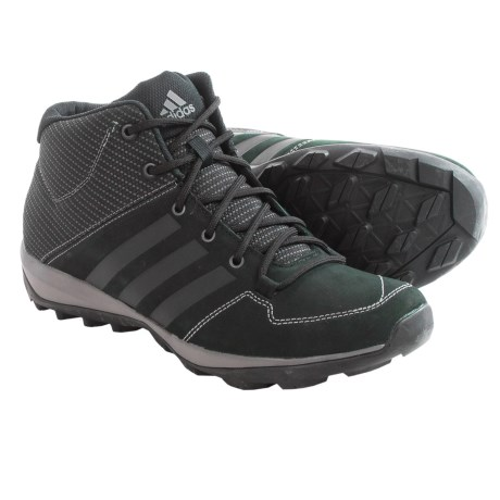 adidas outdoor Daroga Plus Mid Leather Lace Shoes (For Men)