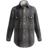 Panhandle Slim Western Plaid Shirt - Snap Front, Long Sleeve (For Little and Big Boys)