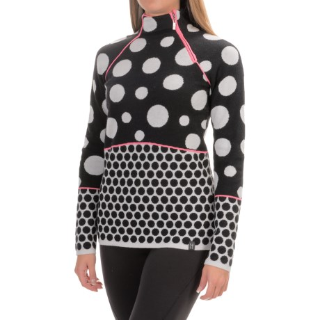 Neve Keely High-Performance Wool Sweater - Side Zip (For Women)