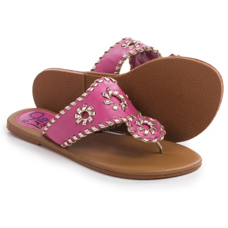Olivia Miller Girl Flip-Flops (For Little Girls and Big Girls)