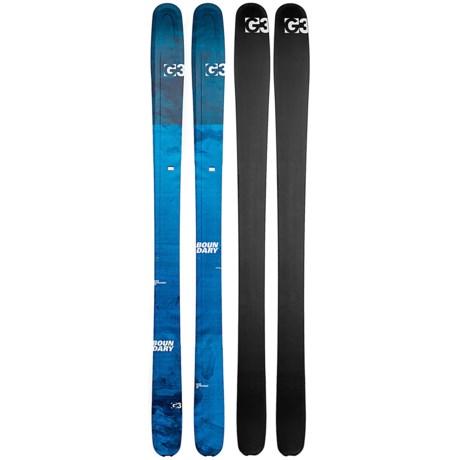 G3 Boundary 100 Alpine Skis (For Women)