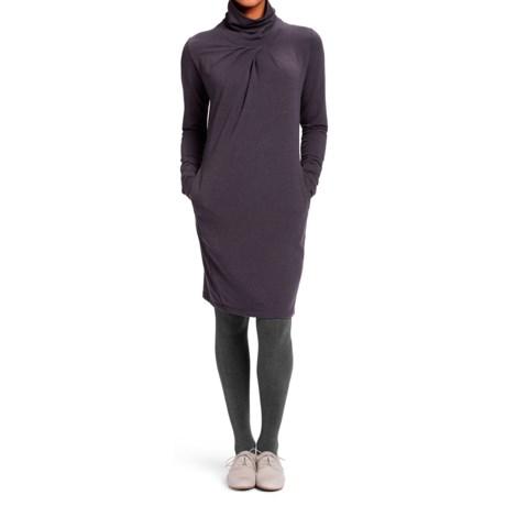 NAU Elementerry Pleat Dress - Organic Cotton-TENCEL®, Long Sleeve (For Women)