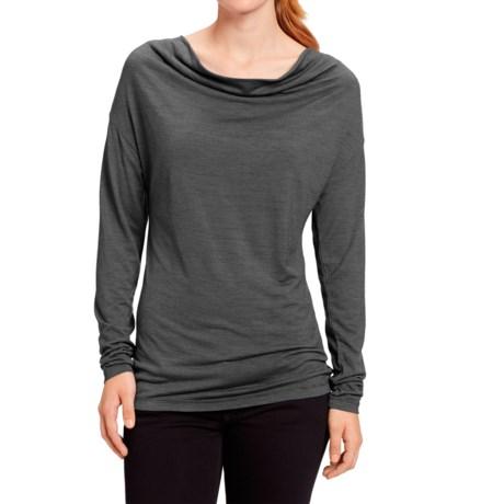 NAU M2 Cowl Neck Shirt - Merino Wool, Long Sleeve (For Women)
