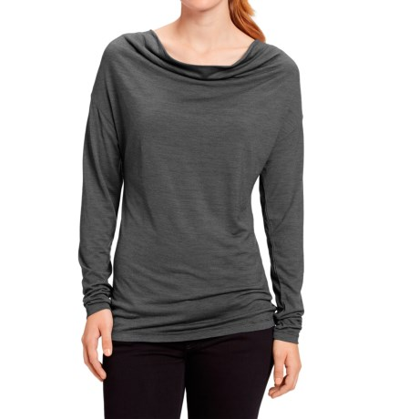 NAU M2 Cowl Neck Shirt - Merino Wool, Long Sleeve (For Women)