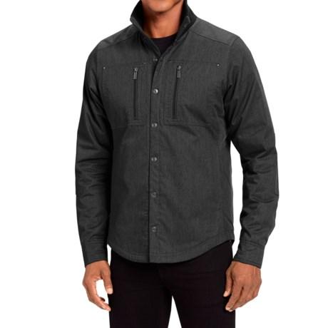 NAU Utility Work Shirt Jacket - Insulated, Organic Cotton (For Men)