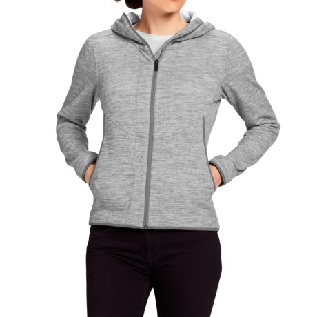 NAU Randygoat Plus Hoodie - Full Zip (For Women)