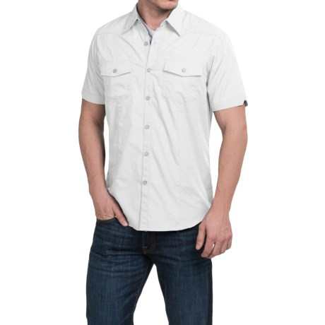 Cultura Levi Shirt - Short Sleeve (For Men)