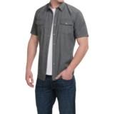 Duke's Bark Printed Shirt - Snap Front, Short Sleeve (For Men)