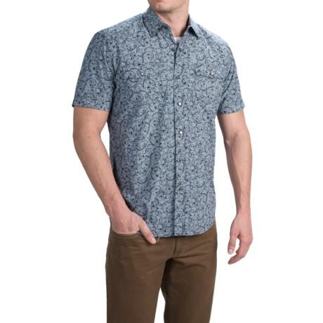 Duke's Bark Western Shirt - Snap Front, Short Sleeve (For Men)