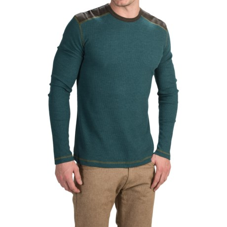 Ecoths Aaron Shirt - Organic Cotton Blend, Long Sleeve (For Men)
