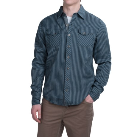 Ecoths Wallace Shirt - Organic Cotton, Long Sleeve (For Men)