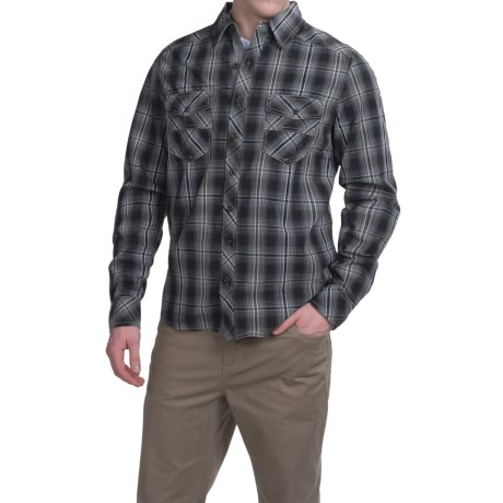 Ecoths Conrad Shirt - Organic Cotton, Long Sleeve (For Men)