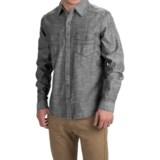 Ecoths Soren Shirt - Organic Cotton, Long Sleeve (For Men)