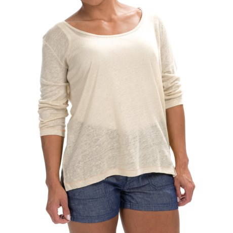 Timberland Palmer River Shirt - Linen, 3/4 Sleeve (For Women)
