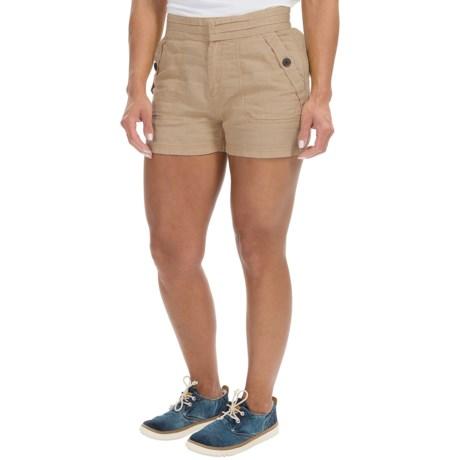 Timberland Winnicut River Shorts - Linen-Cotton (For Women)