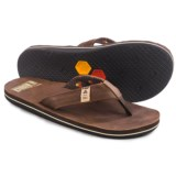 Freewaters Channel Islands Flip-Flops - Leather (For Men)