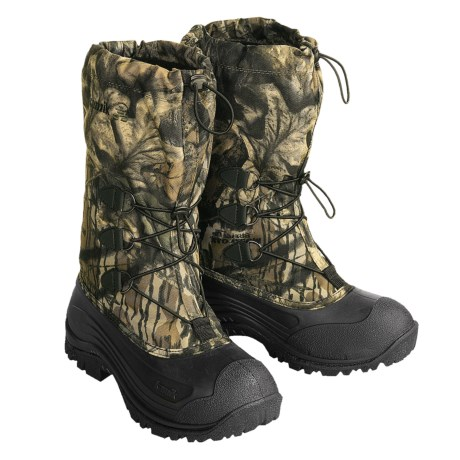 Kamik Algonquin Hunting Camo Pac Boots - Waterproof, -40°F (For Men)