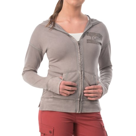 Specially made Logo Zip Hoodie (For Women)