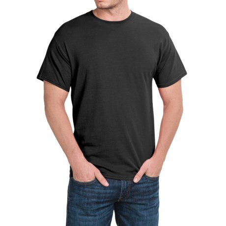 Hanes Stretch Cotton T-Shirt - Short Sleeve (For Men and Women)