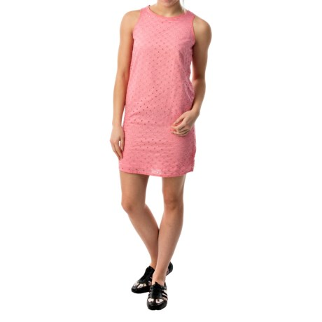 Eyelet Woven Dress - Sleeveless (For Women)