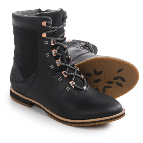 Ahnu Chenery Lace Boots - Leather (For Women)