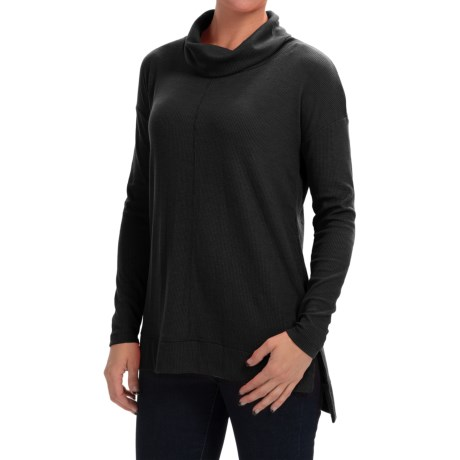 Specially made Thermal Cowl Neck Shirt - Long Sleeve (For Women)