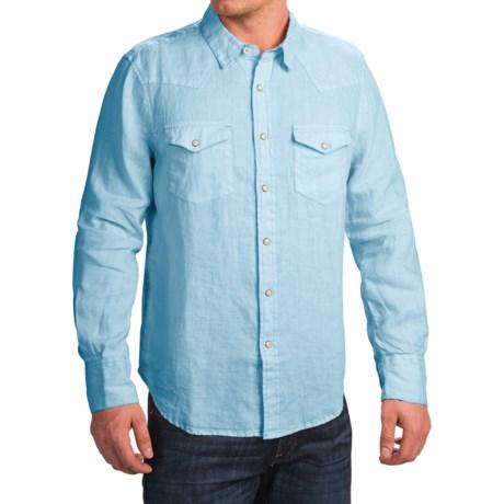 True Grit Luxe Linen Shirt - Long Sleeve (For Men)