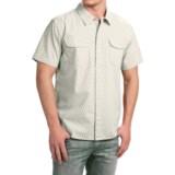 True Grit Brushed Cotton Shirt - Short Sleeve (For Men)