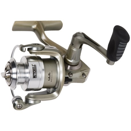 Mitchell Avocet IV Silver Front Drag Spinning Reel