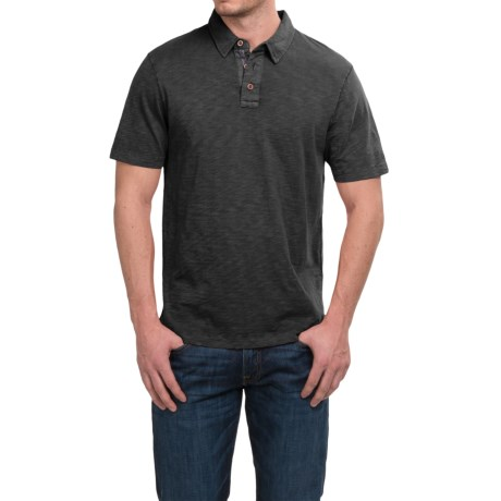 True Grit Heritage Slub Polo Shirt - Short Sleeve (For Men)