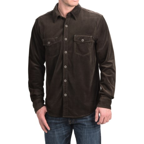 True Grit Sueded Check Shirt - Long Sleeve (For Men)