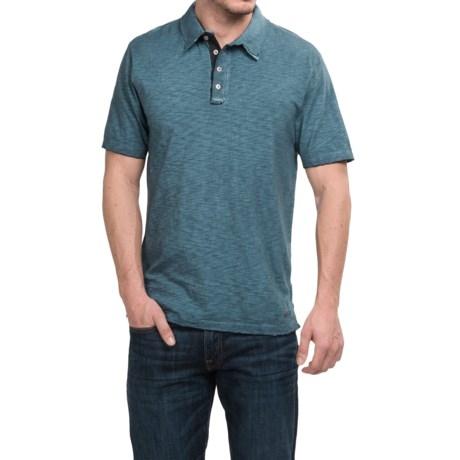 True Grit Vintage Slub-Knit Polo Shirt - Short Sleeve (For Men)