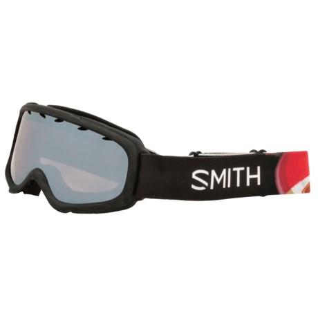 Smith Optics Gambler Air Ski Goggles (For Little and Big Kids)