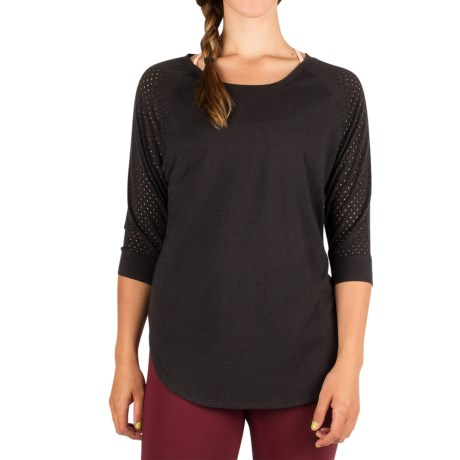 Zuala Horizon Lattice Shirt - 3/4 Sleeve (For Women)