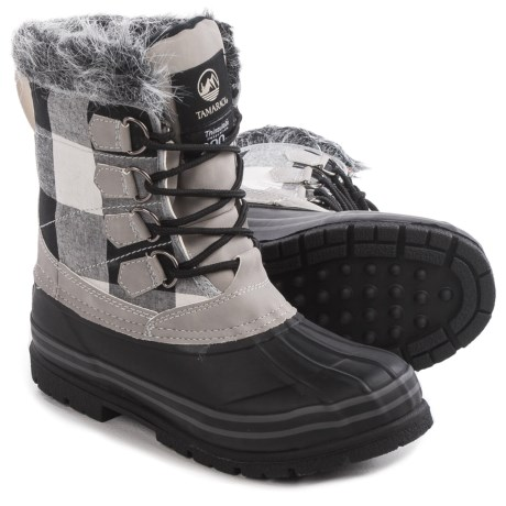 Tamarack Plaid Jill Thinsulate® Pac Boots - Insulated (For Women)