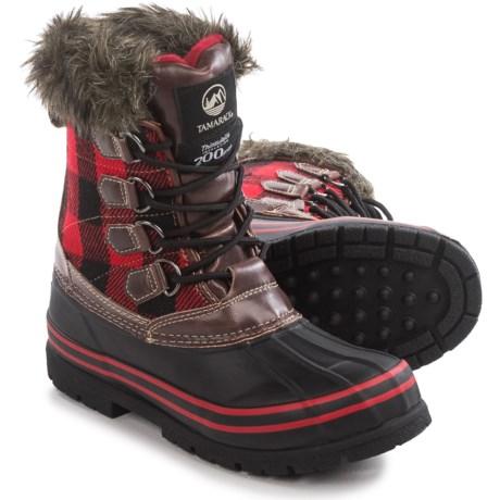 Tamarack Plaid Jill Thinsulate® Pac Boots - Insulated (For Women)