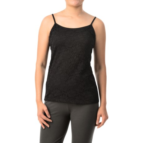 Specially made Eyelet Lace Front Camisole (For Women)